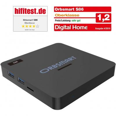 Orbsmart S86 Android 9.0 4k Hdr Tv-box